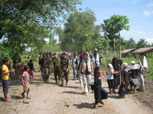 Nonviolent Peaceforce accompaniment in the Philippines